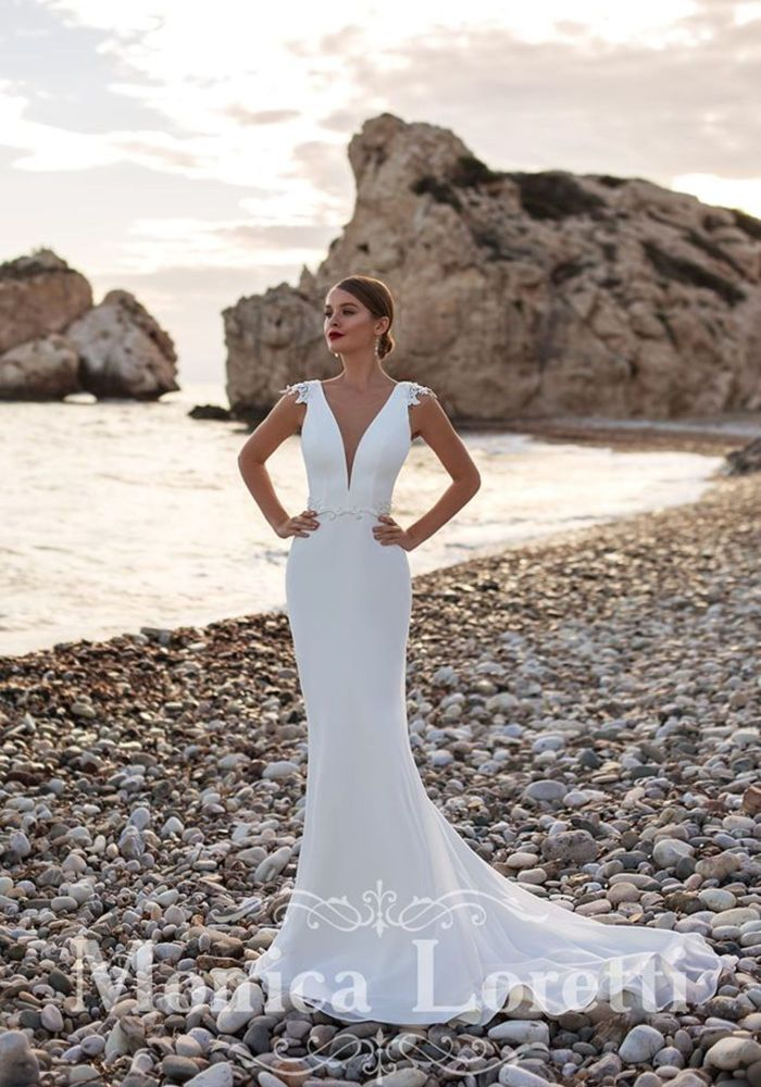 Monica Loretti Wedding Dress